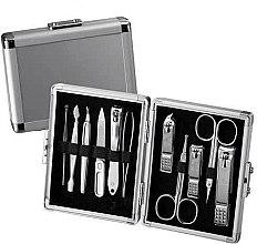 Profumi e cosmetici Set manicure - Three Seven Silver Case