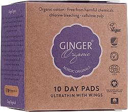 Profumi e cosmetici Salvaslip, 10 pz - Ginger Organic