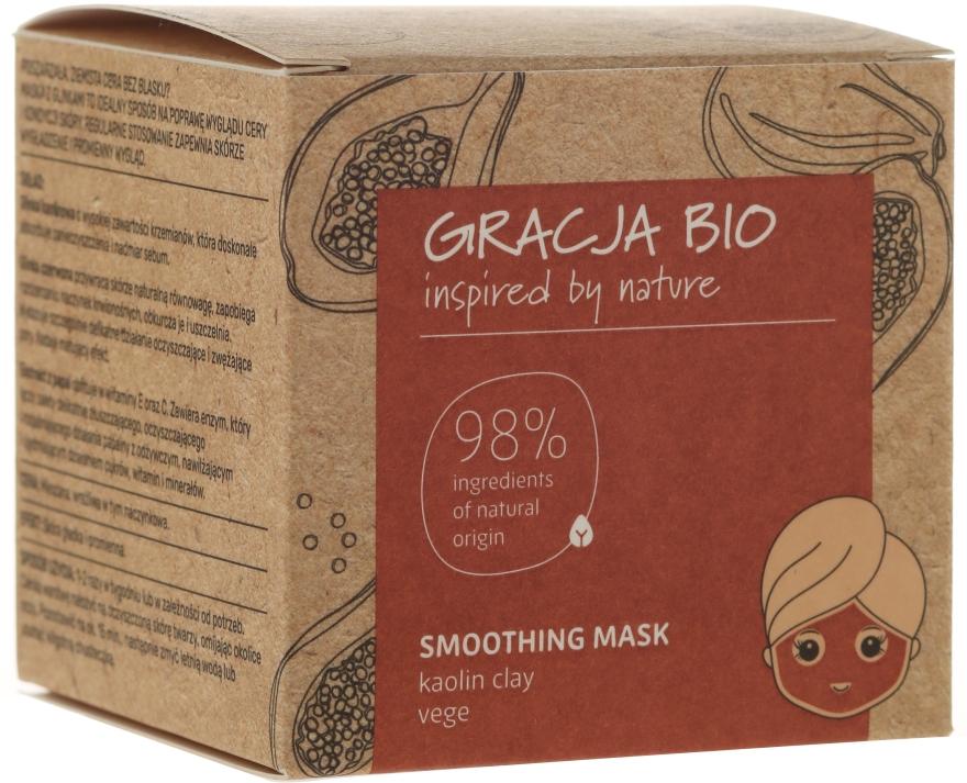 Maschera levigante con argilla caolino - Gracja Bio Smoothing Mask