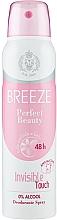 Profumi e cosmetici Breeze Deo Spray Perfect Beauty - Deodorante corpo