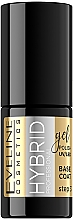 Profumi e cosmetici Base ibrida per unghie - Eveline Cosmetics Hybrid Professional Base Coat