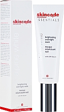 Profumi e cosmetici Maschera illuminante - Skincode Essentials Alpine White Brightening Overnight Mask