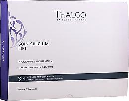 Profumi e cosmetici Set - Thalgo Marine Silicium Programme (f/ser/6x3ml + f/filler/6x2ml + f/mask/6x100g + f/mask/6pcs + f/ser/6x10ml)