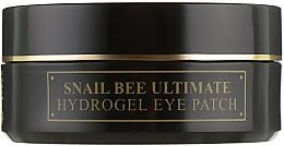 Profumi e cosmetici Patch in idrogel con bava di lumaca e veleno d'api - Benton Snail Bee Ultimate Hydrogel Eye Patch