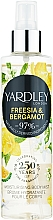 Profumi e cosmetici Yardley Freesia & Bergamot - Spray corpo