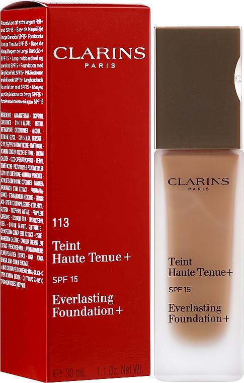 Fondotinta resistente - Clarins Everlasting Foundation+ SPF 15