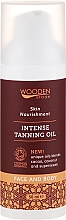 Profumi e cosmetici Olio abbronzante intensivo - Wooden Spoon Intense Tanning Oil