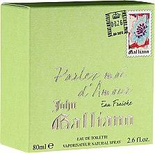Profumi e cosmetici John Galliano Parlez-Moi d'Amour Eau Fraiche - Eau de toilette