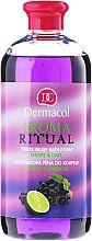 Profumi e cosmetici Bagnoschiuma all'uva e lime - Dermacol Aroma Ritual Bath Foam Grape & Lime