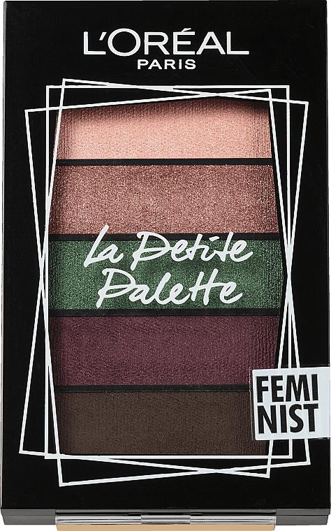 Palette ombretti - L'Oreal Paris La Petite Palette Feminist Eyeshadow