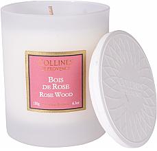"Profumi e cosmetici Candela profumata ""Palissandro"" - Collines De Provence Rose Wood Scented Candle"