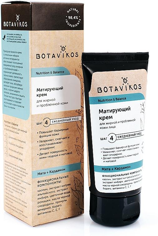 """Crema per pelli grasse e problematiche """"Nutrizione ed equilibrio"""" - Botavikos — foto N2"""