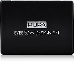 Profumi e cosmetici Set per sopracciglia - Pupa Design Eyebrow