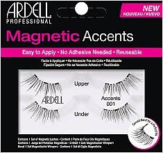 Profumi e cosmetici Ciglia finte - Ardell Magnetic Lashes Accents 001