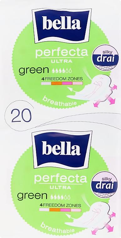 Assorbenti Perfecta Green Drai Ultra, 2x10pz - Bella