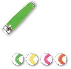 Tagliaunghie 76947, gialla neon - Top Choice Colours Nail Clippers — foto N1