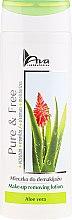Profumi e cosmetici Latte struccante - AVA Laboratorium Pure & Free Make-up Removing Lotion