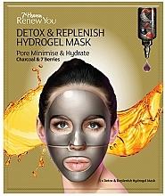 Profumi e cosmetici Maschera viso in idrogel - 7th Heaven Renew You Detox Replenish Hydrogel Mask