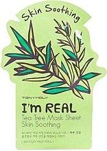 Profumi e cosmetici Maschera in tessuto - Tony Moly I'm Real Tea Tree Mask Sheet