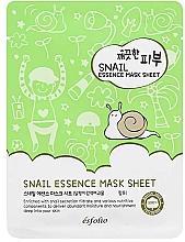 Profumi e cosmetici Maschera in tessuto alla bava di lumaca - Esfolio Pure Skin Snail Essence Mask Sheet