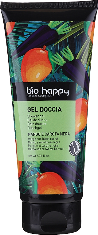 "Gel doccia ""Mango e Carota Nera"" - Bio Happy Shower Gel Mango And Black Carrot — foto N1"