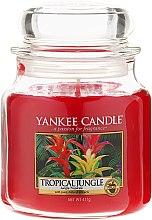 Profumi e cosmetici Candela profumata con contenitore in vetro - Yankee Candle Tropical Jungle