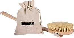 Profumi e cosmetici Spazzola per massaggio corpo a secco n. 4 - Hhuumm
