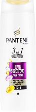 Profumi e cosmetici Shampoo 3 in 1 - Pantene Pro-V Superfood Shampoo