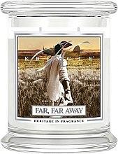 Profumi e cosmetici Candela profumata in vetro - Kringle Candle Far Far Away