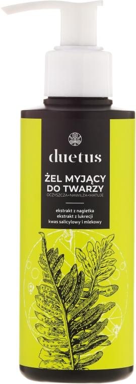 Gel detergente - Duetus Face Wash Gel