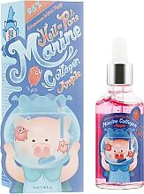 Profumi e cosmetici Siero viso al collagene marino - Elizavecca Hell Pore Marine Collagen Ample 95%