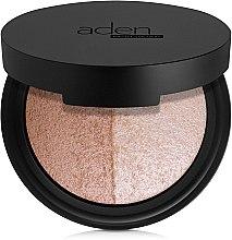 Profumi e cosmetici Cipria viso - Aden Cosmetics Highlighter & Bronzer Duo