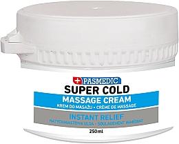 Profumi e cosmetici Crema corpo, da massaggio - Pasmedic Super Cold Massage Cream