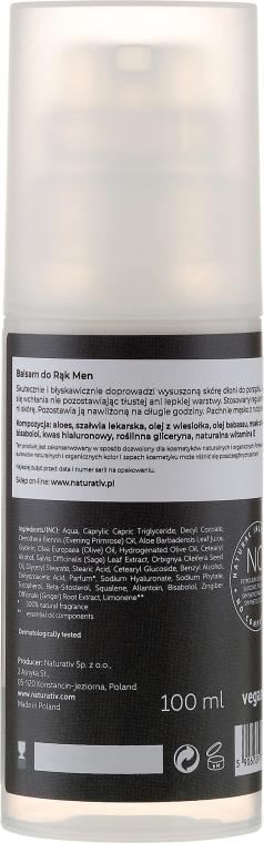 Balsamo mani per uomo - Naturativ Men Hand Balm — foto N2