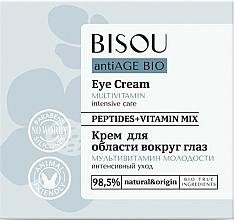 """Profumi e cosmetici Crema contorno occhi """"Multivitaminica"""" - Bisou AntiAge Bio Eye Cream"""