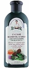 Profumi e cosmetici Shampoo rinforzante per la crescita dei capelli - Ricette di nonna Agafya