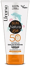 Profumi e cosmetici Emulsione solare SPF 50+, per bambini - Lirene Sun Natura Kids Protective Emulsion SPF50+