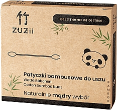 Profumi e cosmetici Bastoncini di cotone di bambù - Zuzii Bamboo Cotton Buds