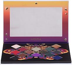 Profumi e cosmetici Palette ombretti - Moira Soul of Fire Shadow Palette