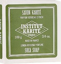 "Profumi e cosmetici Sapone ""Limone e Verbena"" - Institut Karite Lemon Verbena Shea Soap"