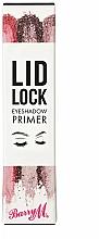 Profumi e cosmetici Primer per palpebre - Barry M Lid Lock Eyeshadow Primer