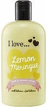 Profumi e cosmetici Doccia crema nutriente - I Love... Lemon Meringue Bath And Shower Cream