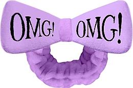 Profumi e cosmetici Fascia cosmetica per capelli, viola - Double Dare OMG! Purple Hair Band