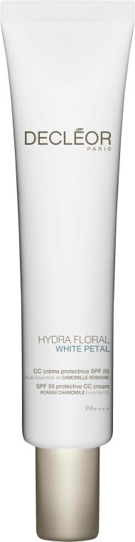 CC Crema protettiva SPF 50 - Decleor Hydra Floral White Petal CC Cream SPF 50 — foto N1