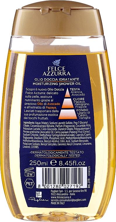"Olio doccia ""Avocado e papaia"" - Felce Azzurra Shower Oil — foto N2"