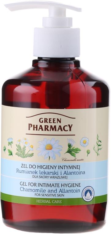 Gel per l'igiene intima con camomilla e allantoina - Green Pharmacy