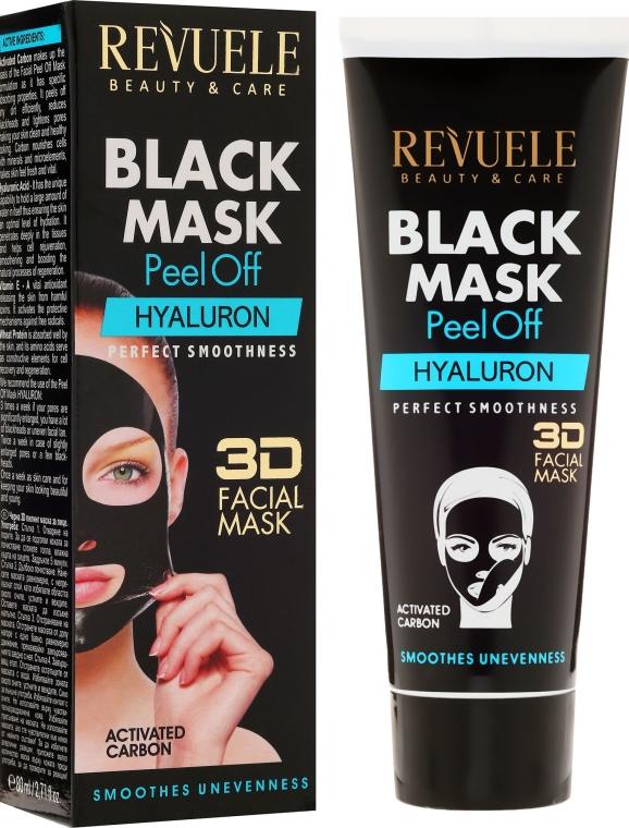"""Maschera nera """"Hyaluron"""" - Revuele Black Mask Peel Off Hyaluron"""