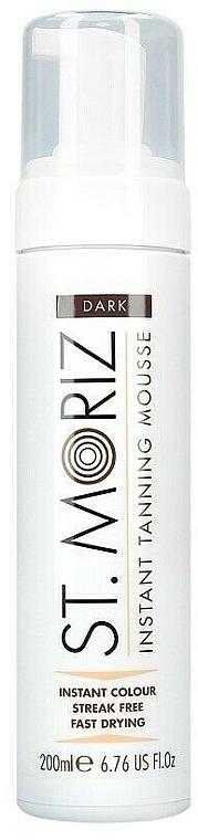 Mousse corpo autoabbronzante - St. Moriz Instant Tanning Mousse Dark