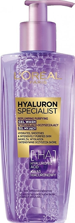 Gel detergente idratante - L'Oreal Paris Hyaluron Expert