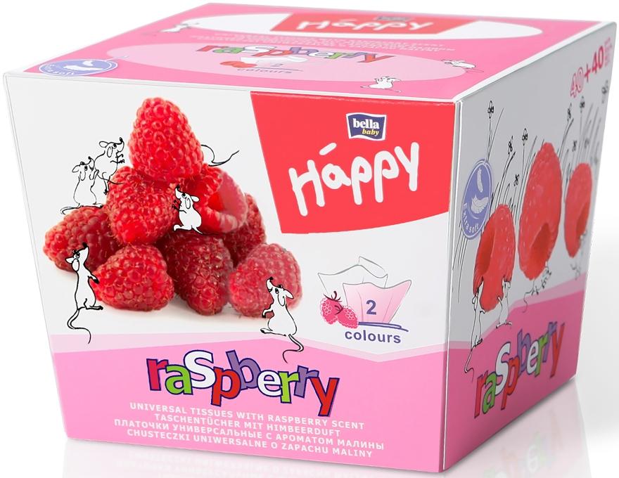 Fazzoletti universali, lampone - Bella Baby Happy